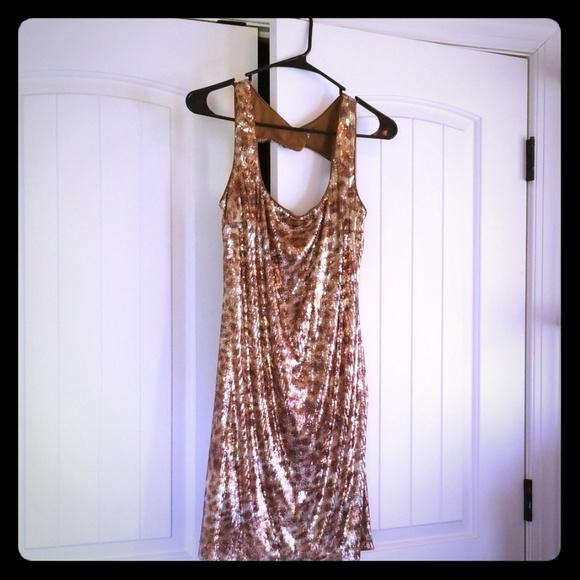 Cache Dresses & Skirts - Sequins Mini Dress